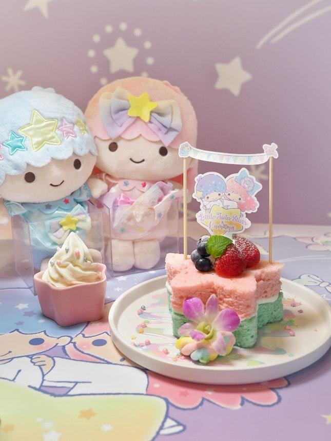 Wish-Upon-A-Star Fluffy chiffon cake ($23.90).