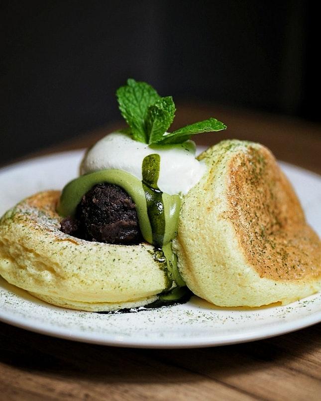 Kiseki Pancake Matcha ($19.80++)
