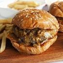 WOLF Rendang Beef Burger