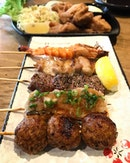 In the mood for some kushiya skewers today .