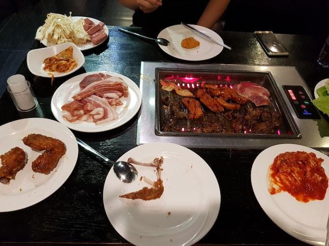 #i'mkimkoreanbbq #buffet