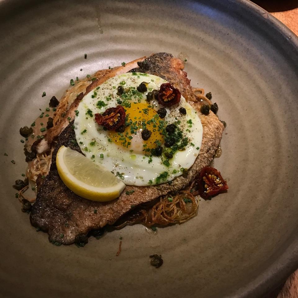 Potato & Fish ($24)