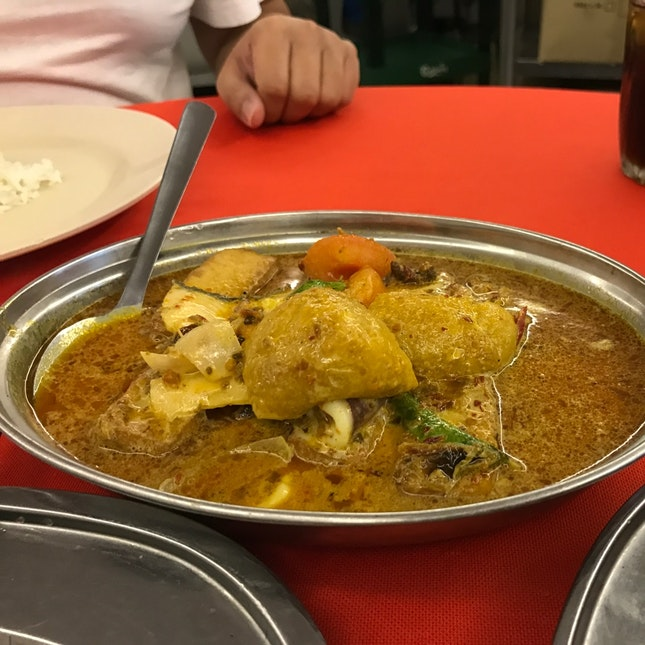 Indonesian Style (Curry) Tofu (RM15/20/26)