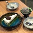 Japanese Matcha Azuki Cheesecake ($8) & Goma Ice Cream ($4.50)