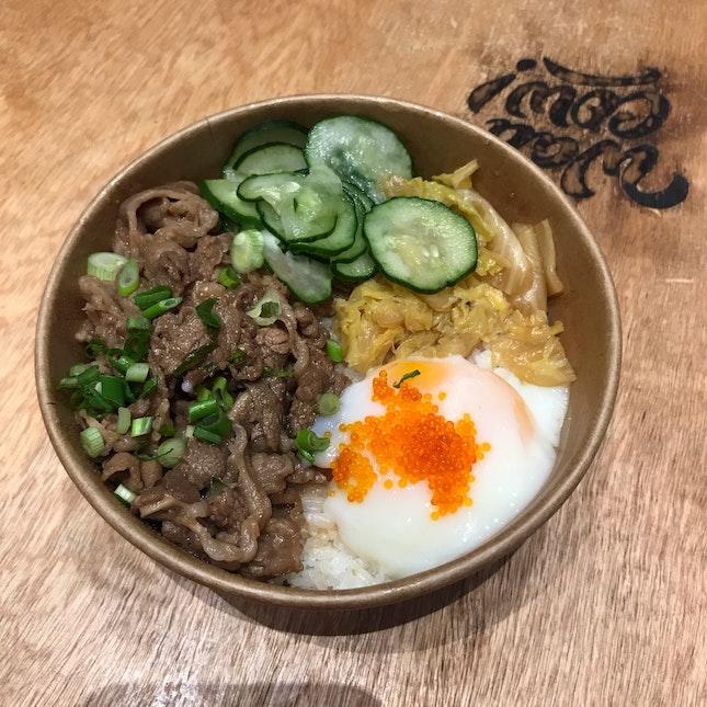 Sukiyaki Gyudon • $11