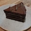 Cognac Chocolate Ganache Cake
