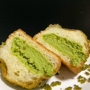 Matcha Cookie Bun