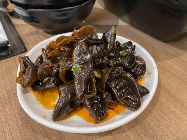 Fragrant Vinegar Black Fungus