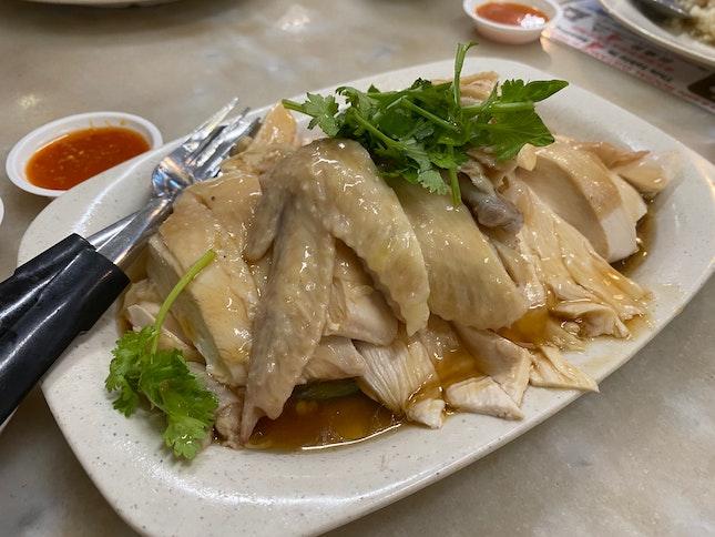 1/2 a Chicken & Chicken Rice