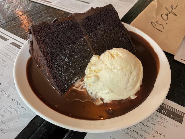 Double Chocolate Blackout Cake