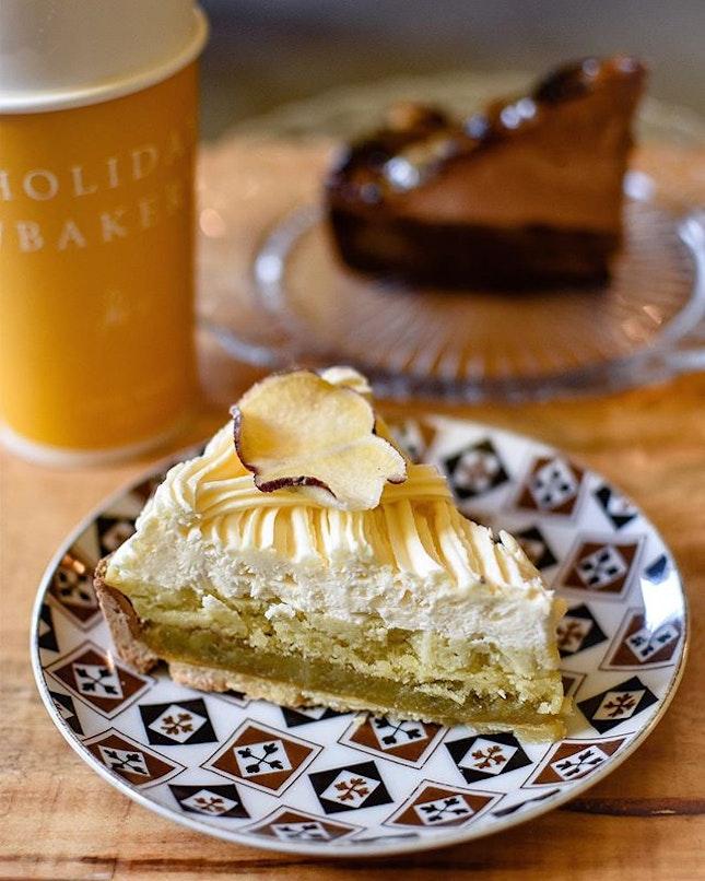 1️⃣Sweet potato tart [7500 KRW ~>$9] 2️⃣Triple tart [7500 KRW ~> $9] 3️⃣Cream Oreo Milk Tea [6800 KRW~> $8.20] .