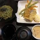 Cold Soba & tempura Set