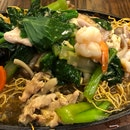 Crispy Seafood Noodle