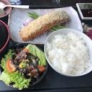 Seared Salmon Lunch Set