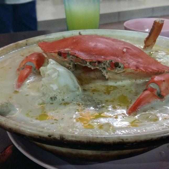 Buttery Crab Soup Beehoon