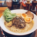 Truffle King Ramen ($18.90++ with extra tamago egg for $2++): this is a limited edition ramen from Ramen Nagi.