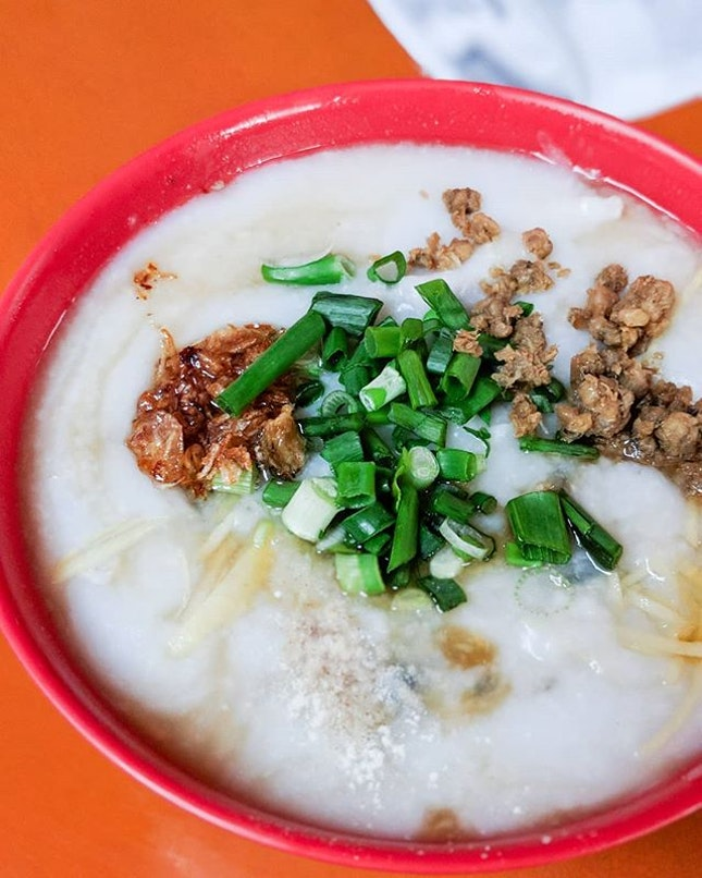Steaming hot and silky smooth are common words used to describe the congee at Zhen Zhen Porridge.