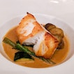 If you're ever at Brasserie Les Seveurs at St Regis, please order the Pan Seared Cod ($49) from their plats principaux menu.