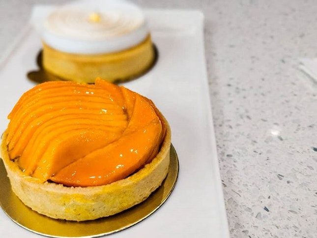 I'm going out on a limb to declare that Tarte by Cheryl Koh serves the BEST tarts in Singapore.