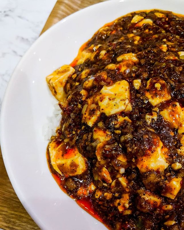 Chen's Mapo Tofu, a branch of Shisen Hanten serves up one of the best Mapo Tofu in Singapore.