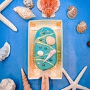 Coming a stunning shade of azure, this beach themed magnum ice cream is one of four in their summer lookbook.