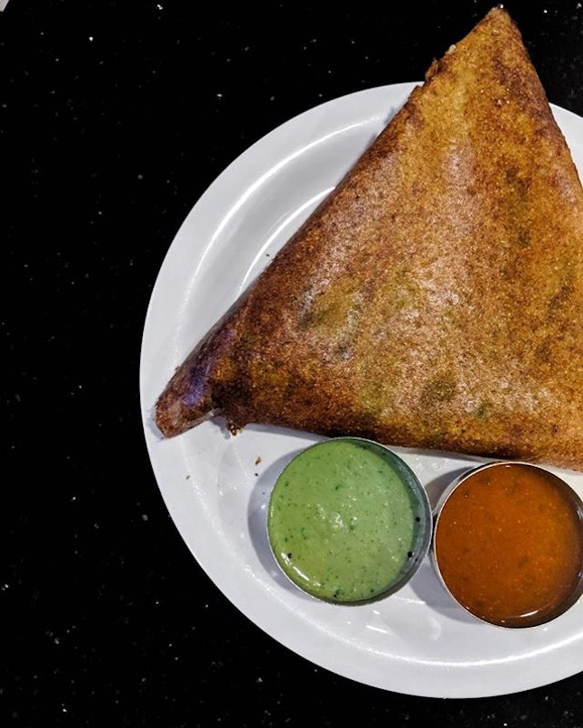 Hands down the best dosai that I've tried in Singapore.