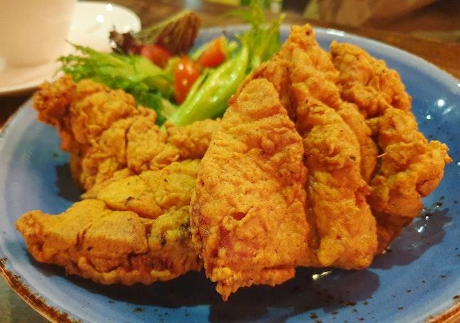 Buttermilk Fried Chicken $20