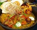 Scallops, Prawns And Chorizo Rice $26