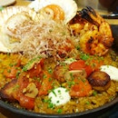 Scallops, Prawns And Chorizo Rice $26