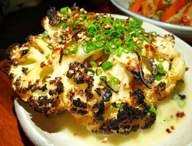 Roast Cauliflower $14