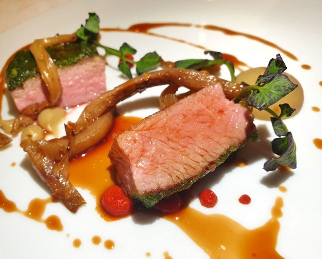 Beef (part of $178 4-course dinner menu)