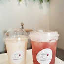 Grape Tea $6.60 And Melon Latte $6.30