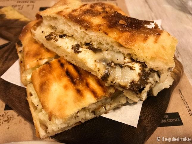 Truffle Stuffed Roman Schuacciata