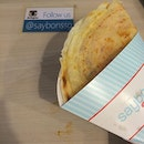 Salmon and egg crepe by @saybonssg 👍 #burpple #lunch #crepe