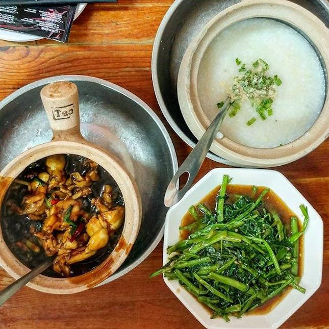 Finally ate this quite famous frog porridge!