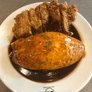 Demiglace Omurice With Chicken Cutlet ($16.90)