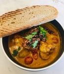 Soft Shell Crab Curry ($17)