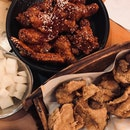 Fried And Yang Nyeom Half Chicken