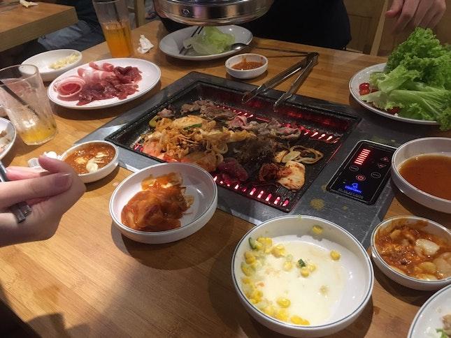 Korean BBQ Meat Overload