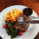 Sirloin Steak & Crispy Fish