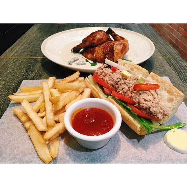 Poulet  Amazing french roast chicken is my absolute favourite!