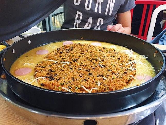 Paik's Pan Taeyang Bokkeumbap RM40  Paik's Pan specialises in sizzling pan just like Yoogane, at more affordable prices!