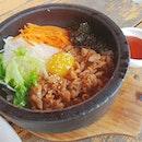 비빔밥와 치킨!