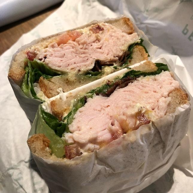 Juicy Turkey Sandwich [$17]