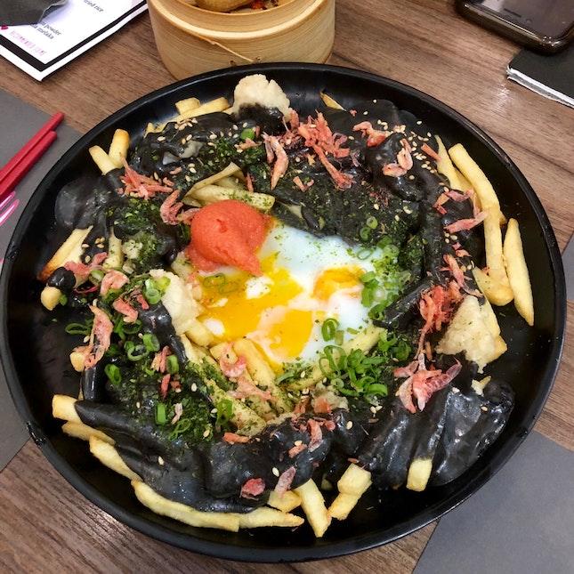Black Fries Day [$10.80++]