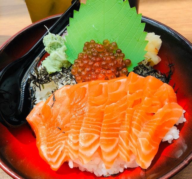 Sashimi Ikura Don [$14.80++]