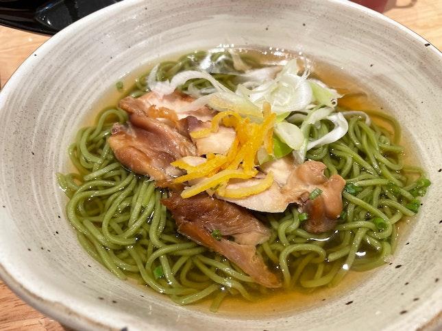 Chicken Yuzu Chasoba [$12.99++]