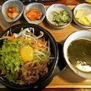 #beef #bibimbap#sgfood #sgeat #koreanfood #hungrygowhere #instag #instagfood #foodpic #burpple #whati8tdy #wheretoeatsg #cafesg