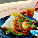 """If I can rename this, it will be called """"Very Very Sweet & Sour Lychee Chicken with Rice""""."""