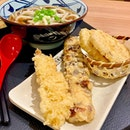 It was lunch time - and after circling the food hall at basement 3 of Ion deciding what to eat, I ended up at Marugame Udon & Tempura.